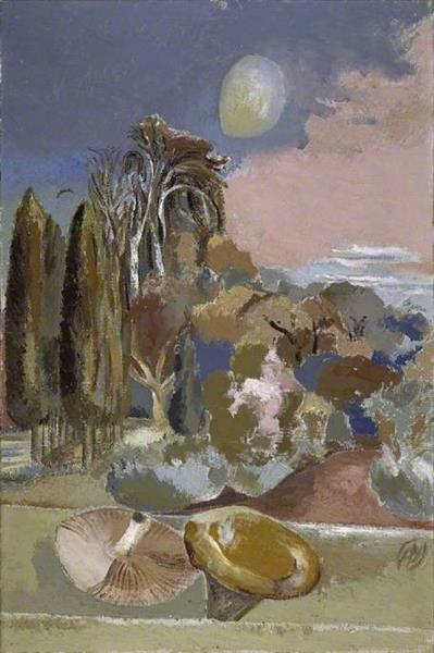 November Moon, 1942 - Paul Nash
