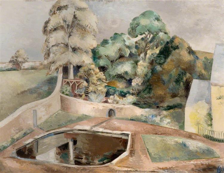 The Pond at Souldern, 1926 - Paul Nash