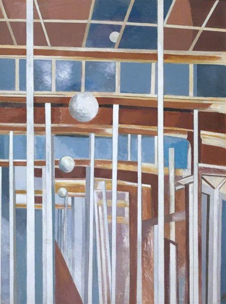 Voyages of the Moon, 1934 - 1937 - Paul Nash