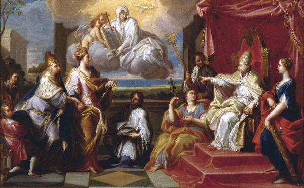 Arbitrato Di Papa Benedetto XIV, 1751 - Placido Costanzi