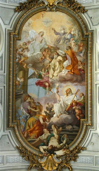 San Gregorio Al Celio - Placido Costanzi