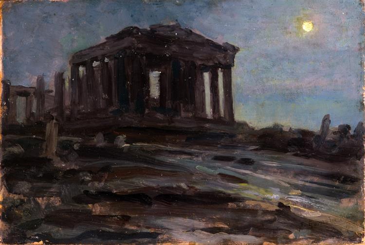Partenón - José Santiago Garnelo y Alda