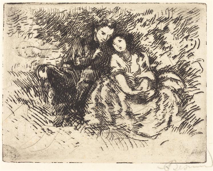 Amorous Conversation, 1913 - Paul-Albert Besnard