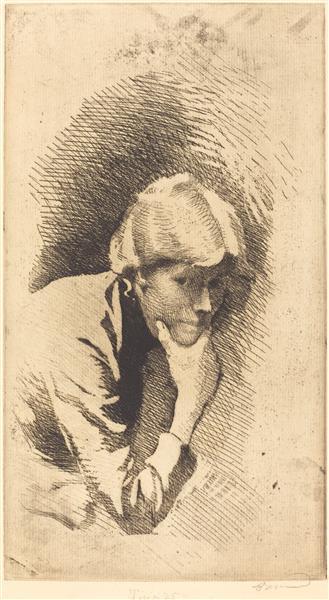 Carmen, 1885 - Paul-Albert Besnard