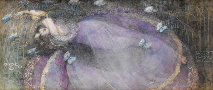 Ophelia, 1898 - Frances Macdonald