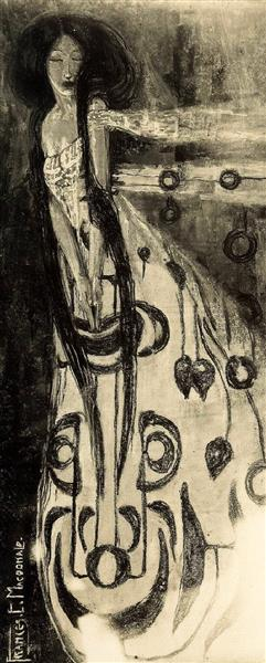 The Sleeping Princess, 1895 - Frances MacDonald
