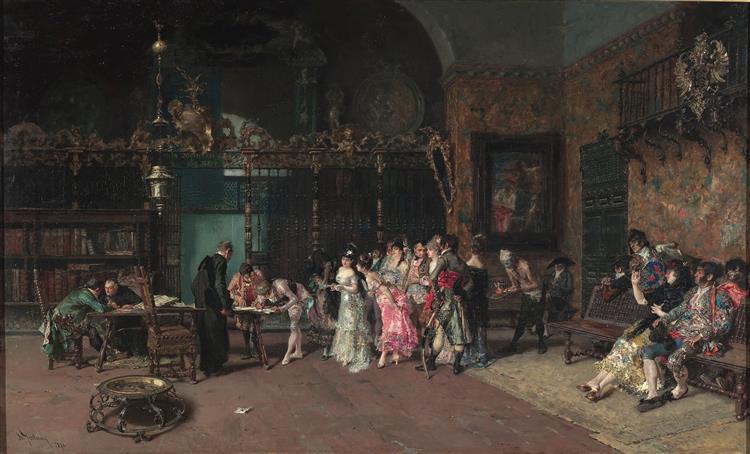 The Spanish Wedding, c.1870 - Marià Fortuny