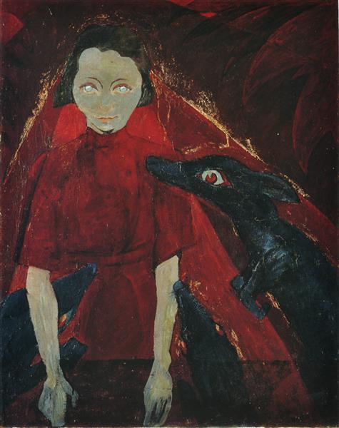 The Dreamer, 1919 - Walter Gramatté