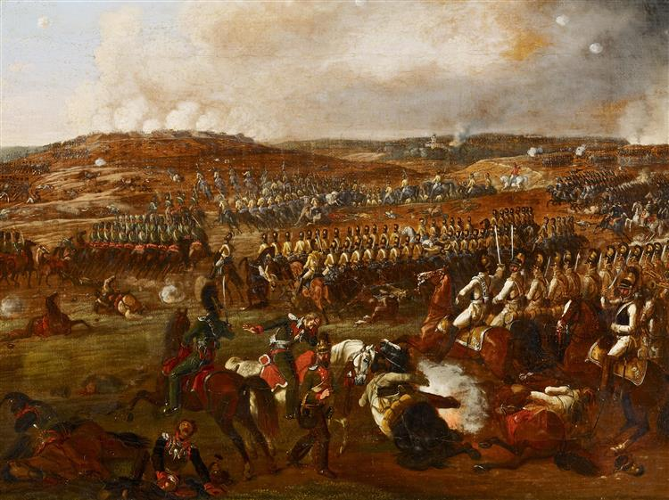 Battle of Borodino, c.1825 - Albrecht Adam