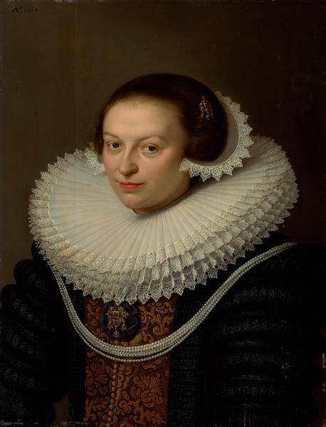Johanna Visscher, 1652 - David Bailly