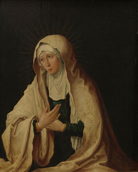 Virgin Mary - Lucas van Leyden