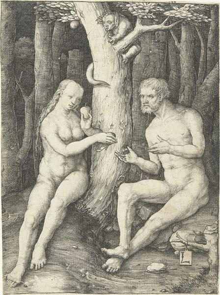 The Fall, 1508 - Lucas van Leyden