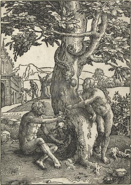The Fall, 1519 - Lucas van Leyden