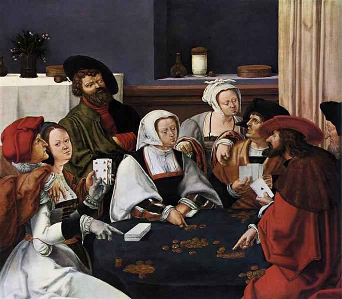 Card Players, c.1510 - Lucas van Leyden