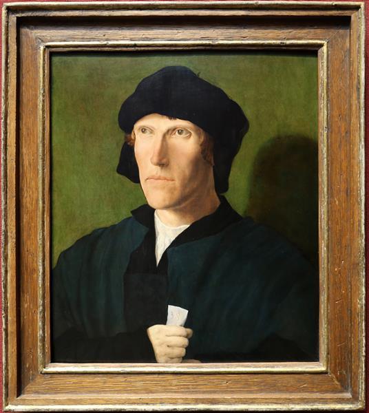 Thirty eight year old man, c.1521 - Lucas van Leyden