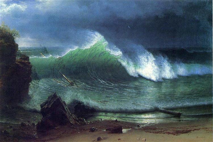 Emerald Sea - Albert Bierstadt