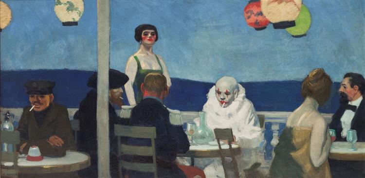 Bluenight, 1914 - Edward Hopper