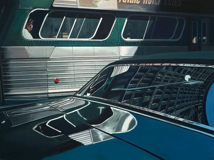 Bus with Reflection of the Flatiron Building, 1966 - 1967 - Richard Estes