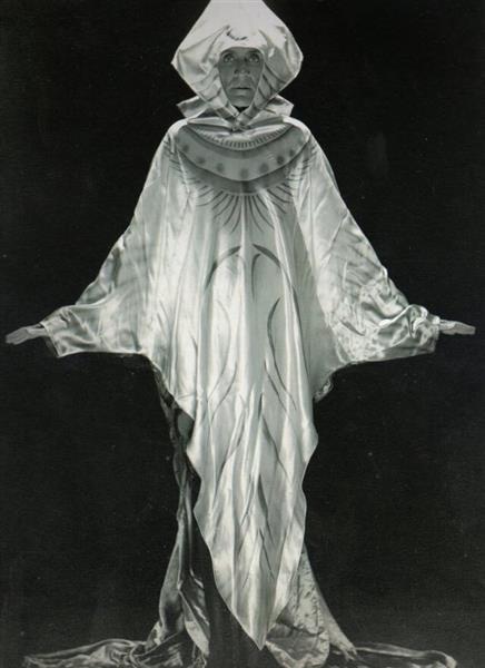 Costume Représentant Parties Du Monde, Bal Louis XIV, 1923 - Валентина Гюго