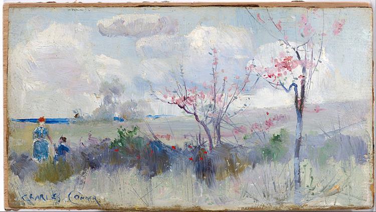 Herrick's Blossoms, 1888 - Charles Conder