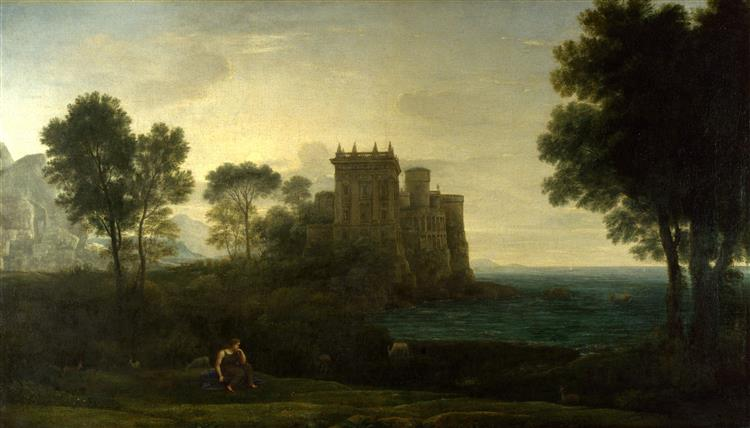 Landscape with Psyche Outside the Palace of Cupid, 1664 - Claude Lorrain
