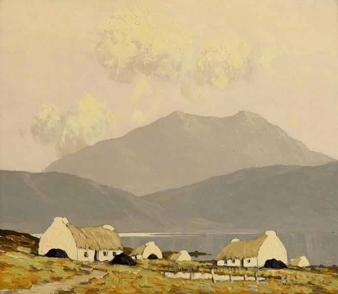 Killary Bay, Connemara, c.1924 - c.1925 - Paul Henry