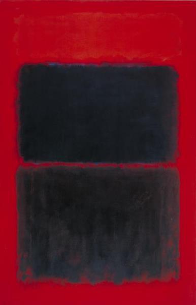 Light Red Over Black, 1957 - Марк Ротко