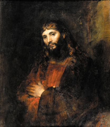 Christ with Arms Folded, 1661 - Rembrandt