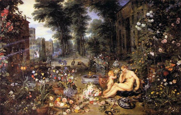 El Olfato, 1618 - Jan Brueghel the Elder