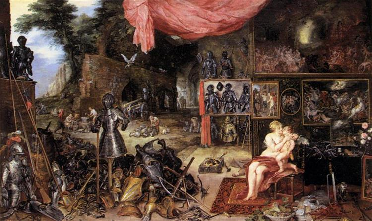 The Sense of Touch - Jan Brueghel the Elder