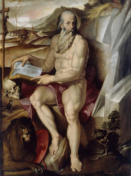 Saint Jerome, c.1560 - c.1570 - Bartolomeo Passarotti
