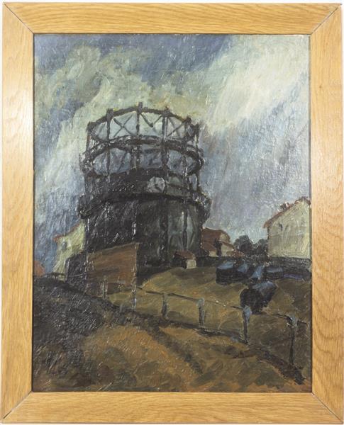 Gas Plant, 1916 - Walter Gramatté