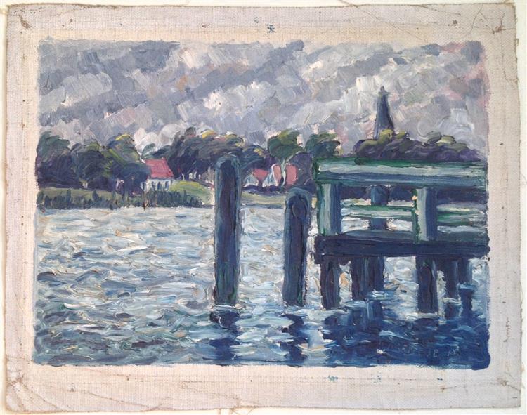 Pier, 1915 - Walter Gramatté