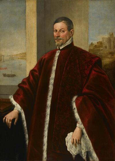 Venetian Nobleman - Domenico Tintoretto