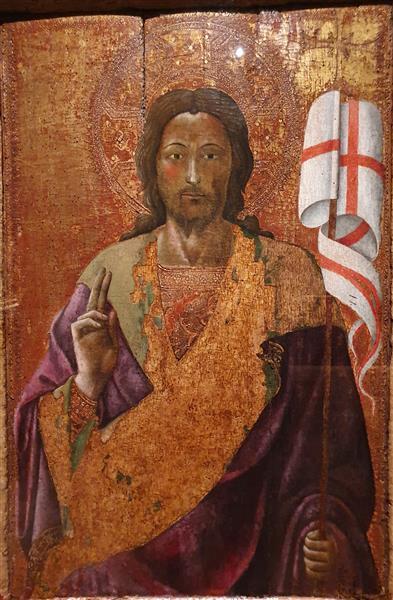 Cristo Ressuscitado Abençoando - Álvaro Pires de Évora