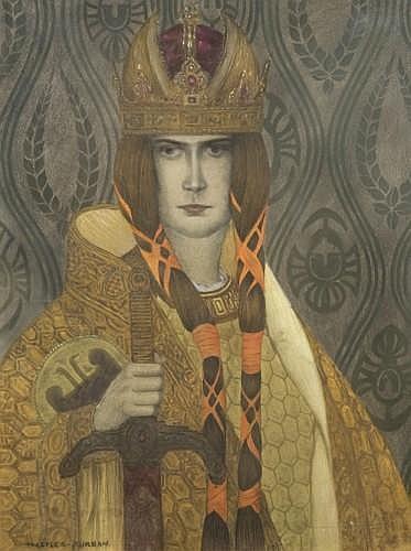 Portrait Présumé Du Prince Rodolphe De Habsbourg - Heinrich Lefler