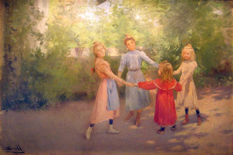 La Sardana, 1902 - Жоан Бруль-и-Виньолес