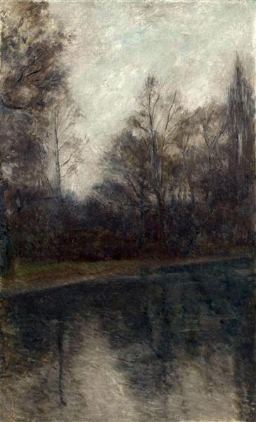 Paisatge, 1907 - Жоан Бруль-и-Виньолес