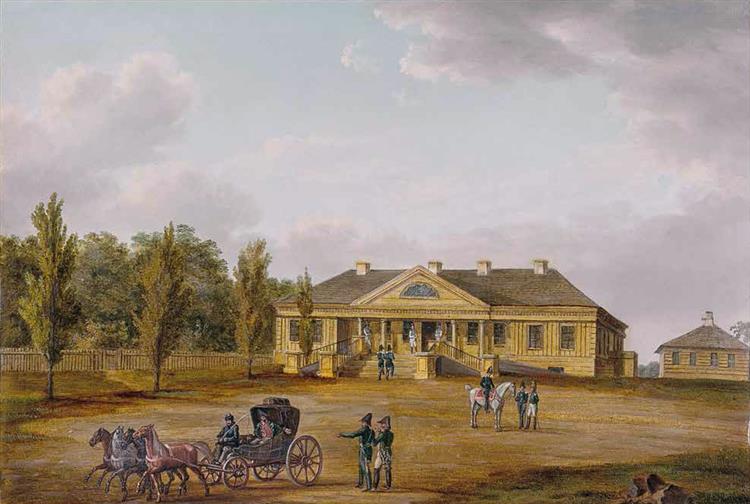 Smarhoń, Praździecki Manor, 1812 - Albrecht Adam