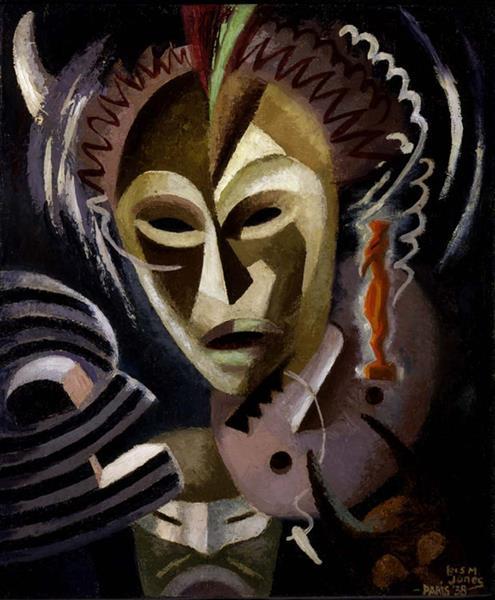 Les Fétiches, 1938 - Lois Mailou Jones