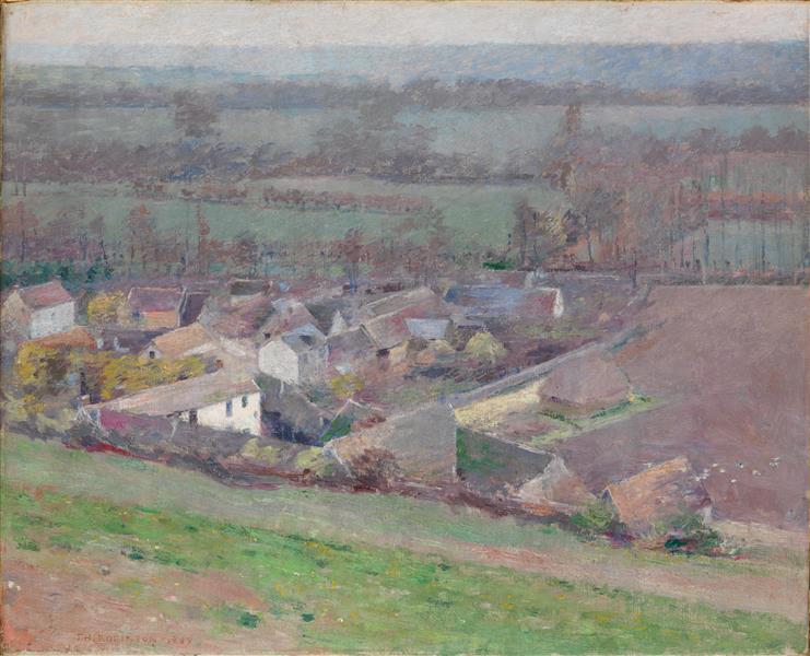 A Bird's-eye View, 1889 - Theodore Robinson