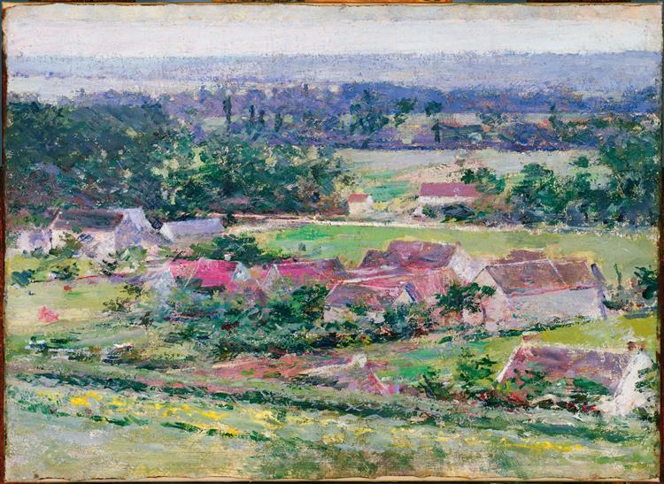 Giverny, c.1889 - Theodore Robinson