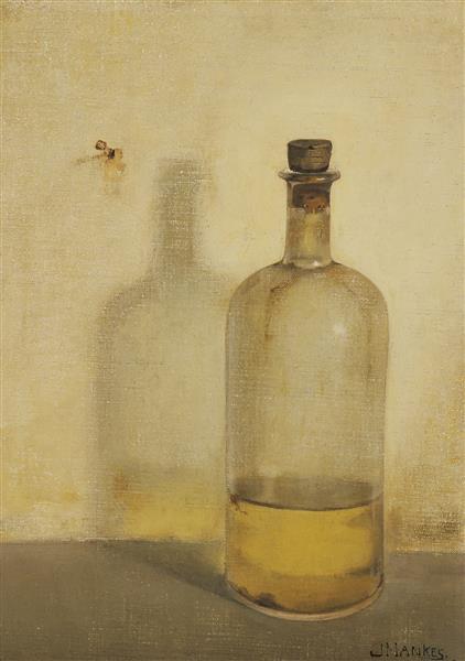 Oil bottle, 1909 - Jan Mankes