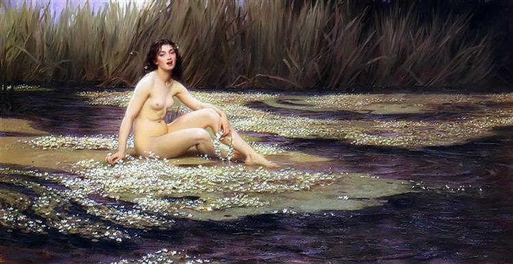 La Nymphe Des Eaux, 1908 - Herbert James Draper
