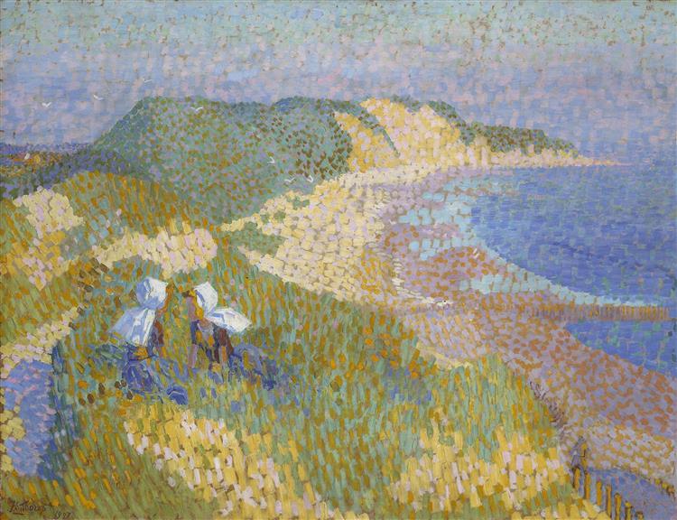 Zee En Duin Bij Zoutelande, 1907 - Jan Toorop