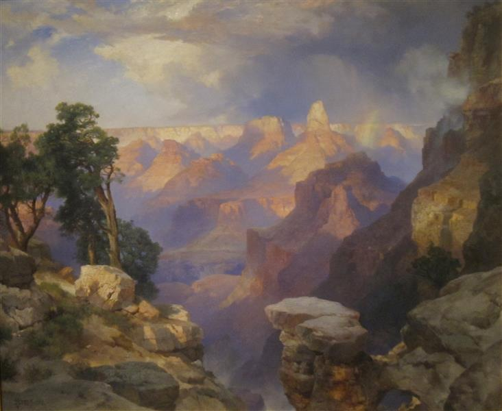 Grand Canyon with Rainbow, 1912 - Thomas Moran