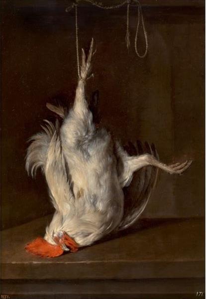 Dead Cock, 1659 - 1660 - Gabriel Metsu
