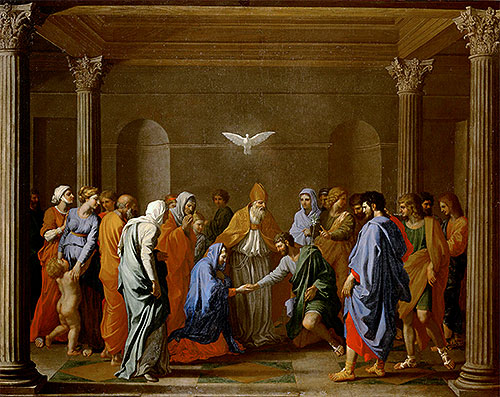 The Marriage of the Virgin, 1640 - Nicolas Poussin