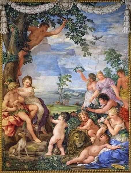 The Golden Age, 1637 - Pietro da Cortona
