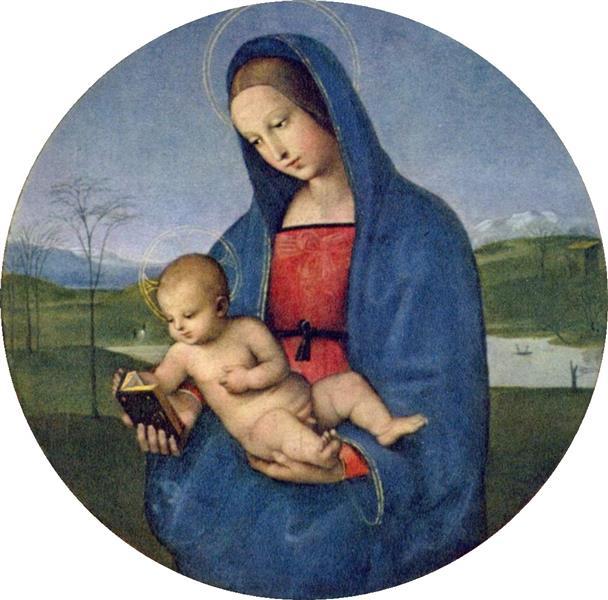 The Madonna Conestabile, 1502 - Raphael